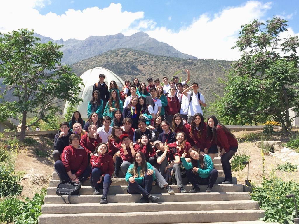 Última actividad pastoral con cuarto medio – visita al templo Baha'í
