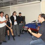Visita del vocalista de los Jaivas