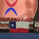 Ex Alumna Campeona mundial Cheerleaders