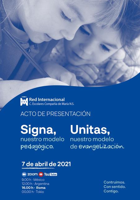 Lanzamiento mundial modelo pedagógico SIGNA y modelo de evangelización ÚNITAS